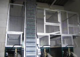 Custom cage for behind the wall system
