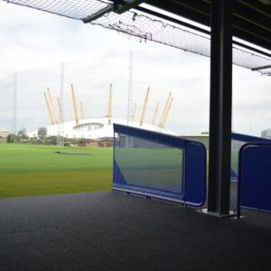 EGM Bespoke Teardrop Bay Dividers @ The O2
