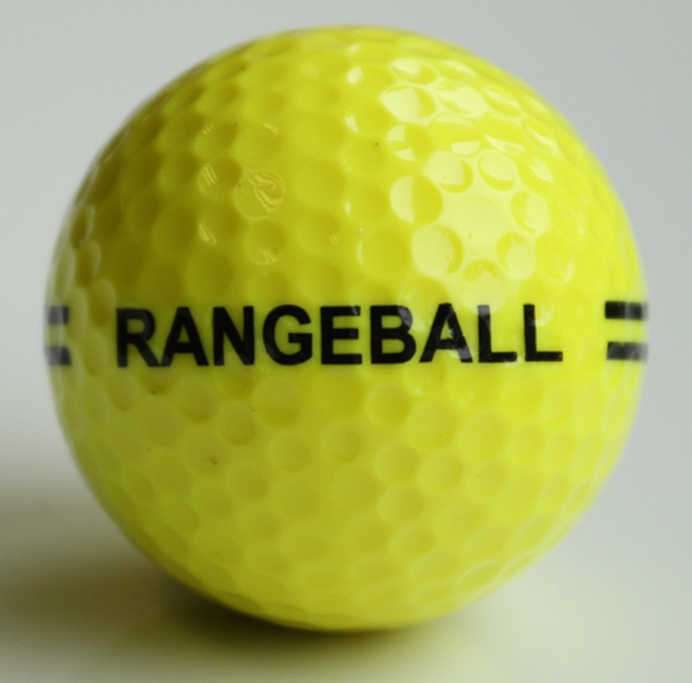 Rangeball 2 Piece Yellow-Black