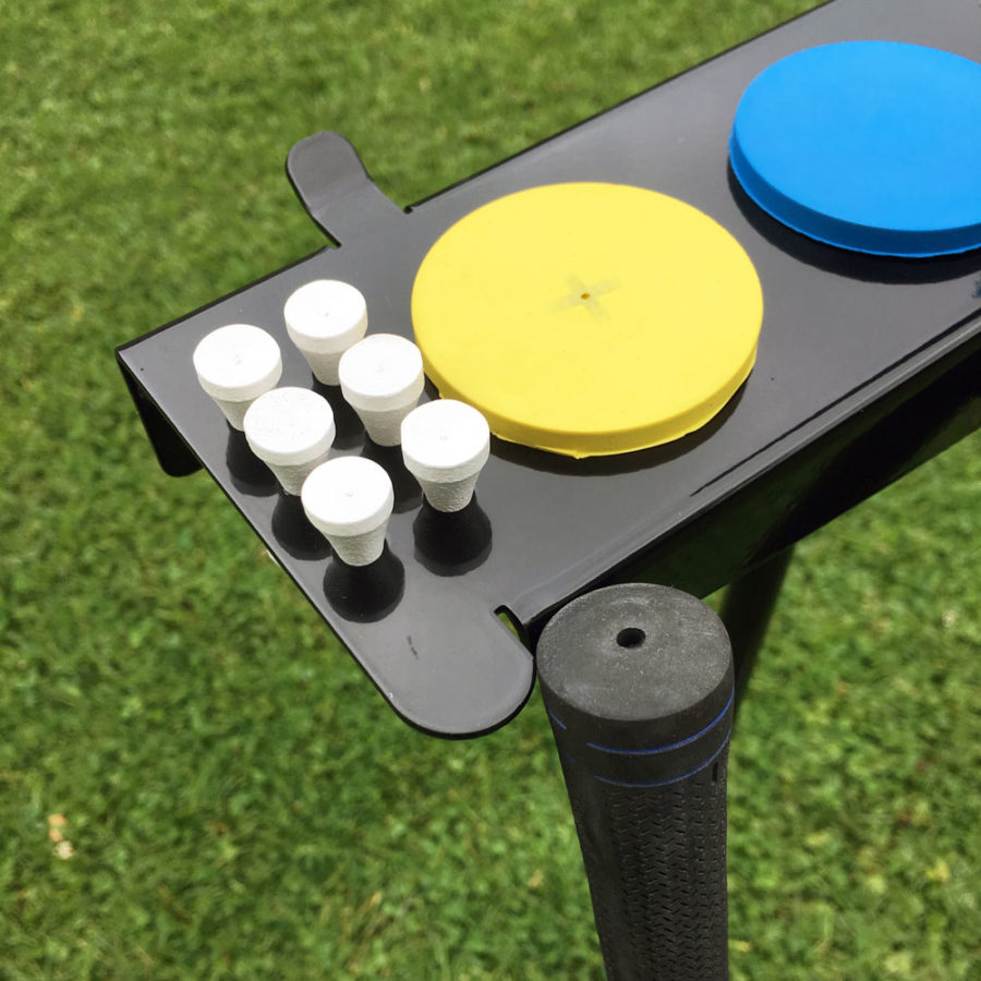 Outdoor Club Stand tee holes