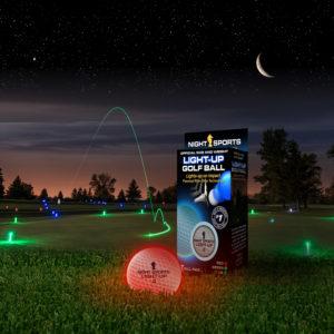 Light up golf ball
