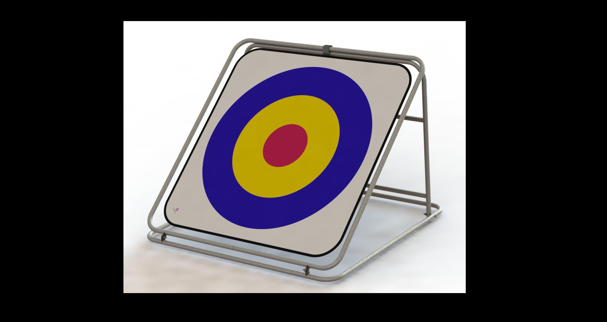 Bullseye Chipping Target Rangeball
