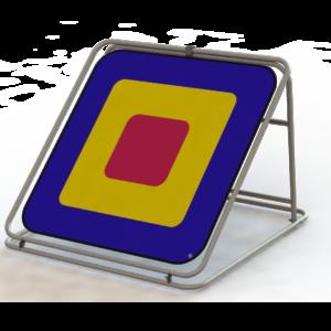 RBT1 Square Colour Range Target Net